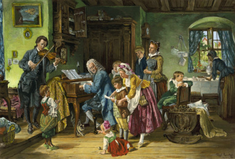 an introduction to the family of musicians of johann sebastian bach Get this from a library the new grove bach family [christoph wolff] -- centered on the life of johann sebastian bach, this composite volume examines the work of.