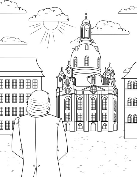 J.S. Bach Coloring Book: The Only Bach Coloring Book on Earth