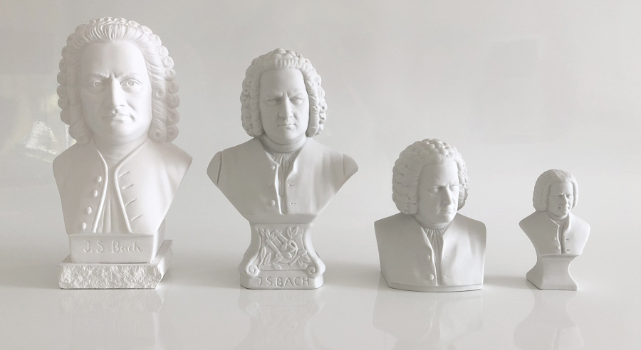 Bach Figure + Bach Bust – Get 2 Bach Gifts With Purchase